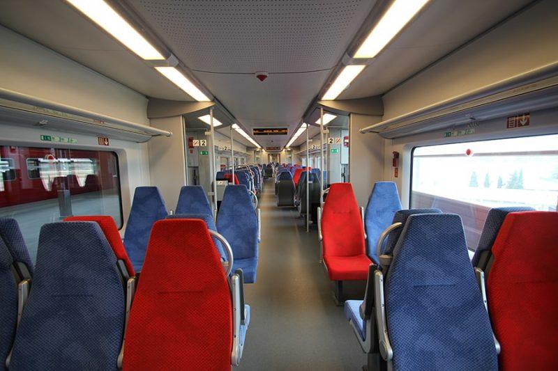 Ласточка поезд фото внутри