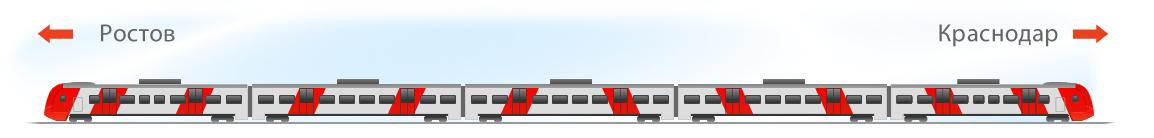 Ласточка премиум схема вагона